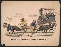 Image of Progressive Democracy--Prospect of a Smash Up. - Maurer, Louis, 1832-1932