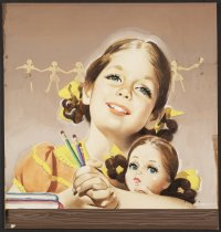 Image of [Girl with a doll] - Whitcomb, Jon, 1906-1988