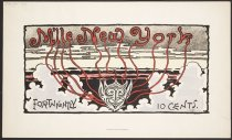 Image of M'lle New York Magazine Art Nouveau Poster  M'lle New York Magazine Art Nouveau Poster No. 1 1895 M'lle New York Magazine Art Nouveau Poster No. 1 1895 M'lle New York Magazine Art Nouveau Poster No. 1  - Fleming, Thomas
