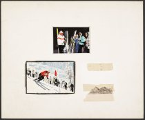 Image of [2 ski scene] - Sickles, Noel, 1910-1982