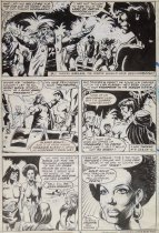 Image of [Page 3 of the story 'Epilogue!' drawn for 'Tarzan' Issue #24] - Buscema, Sal, 1936-