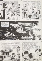Image of [Page 26 of the story 'The Voodoo Planet' drawn for 'Star Trek' #7] - Giolitti, Alberto, 1923-1993