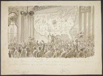 """Image of """"531 statesmen will take oath of office: most of their legislation must reflect technical [illegible] of problems of a complex technological civilization"""" - Cesare, Oscar Edward, 1885-1948"""