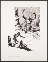 Image of Edgar Rice Burroughs Portfolio: John Carter of Wars, the Warlord - Williamson, Al, 1931-2010