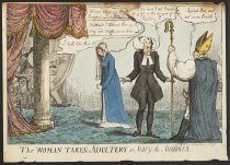 Image of The woman taken in adultery or Mary the Magdalen. - Cruikshank, Isaac, 1756-1811