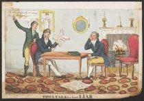 Image of Towntalks a great liar - Heath, William, 1795-1840