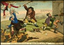 Image of Popular Indignation - or - John Bull in a rage - Lee, Warren