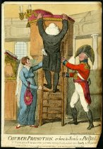 Image of Church promotion, or how to scale a pulpit! - Cruikshank, Isaac, 1756-1811