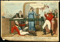 Image of Ananias and Clavira- or Judgement against lying - Cruikshank, Isaac, 1756-1811