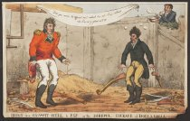 Image of Slugs in a Saw-Pit Hell to Pay, or the Direful Courage of Dollalolla - Heath, William, 1795-1840