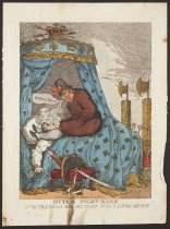 Image of Dutch Night-Mare or the Fraternal Hug Returned with a Dutch Squeeze - Rowlandson, Thomas, 1756?-1827