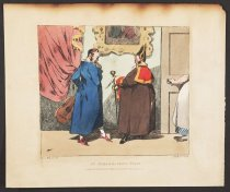 Image of An Embarrassing Visit - Monnier, Henry, 1799-1877
