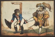 Image of Votre tres homble servituer Monsier - Rowlandson, Thomas, 1756?-1827