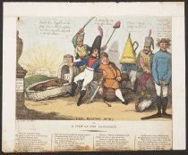 Image of The Rising Sun: or, A View of the Continent. - Sauley, G. also G. Sauler [Farnham], fl 1805-1806