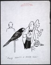 """Image of """"Polly wants a potato chip."""" - Brown, Bo, 1906-1996"""