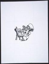 Image of [Pencil at easel] - Storozuk, Walter N, 1940-2005
