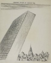 Image of Leaning Tower of Manhattan - Little, Tom, 1898-1972