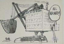 Image of All aboard!  - Powell, Dwane, 1944-
