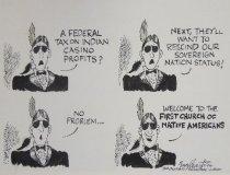 Image of A federal tax on Indian casino profits? - Englehart, Bob, 1945-