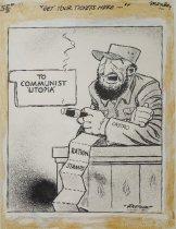 """Image of """"Get your tickets here..."""" - Pletcher, Eldon, 1922-2013"""