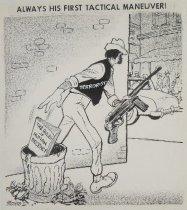 Image of Always His First Tactical Maneuver! - Morris, John Milton, 1907-1994