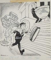 Image of A Disconcerting Utensil! - Morris, John Milton, 1907-1994