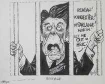 Image of Hostage - Szep, Paul, 1941-
