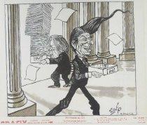 Image of A new president starts fresh - Szep, Paul, 1941-