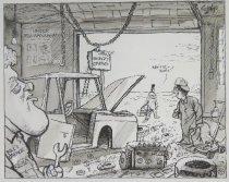 Image of Bill's garage - Szep, Paul, 1941-