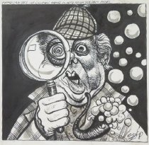 Image of Former Hew Secy. Joe Califano named to head house sex drugs probe - Szep, Paul, 1941-