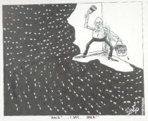 """Image of """"Back!..... I say,...Back!!"""" - Szep, Paul, 1941-"""