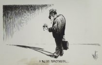 Image of A Blue Brother  - Priggee, Milt, 1953-