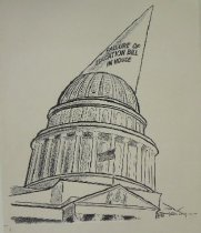 Image of Failure of education bill in house - Engelhardt, Tom, 1930-