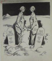"Image of ""Fevvinsake, brother! Don't lay down!"" - Smith, Dorman H., 1892-1956"