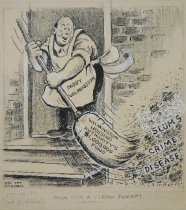 Image of Now for a Clean Sweep! - Maxwell, George T.(Gee Tee), 1895-1965