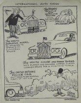 Image of International Auto Show - Collins, John, 1917-
