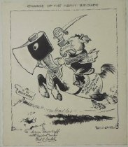 Image of Charge of the Heavy Brigade - Seibel, Frederick Otto, 1886-1969