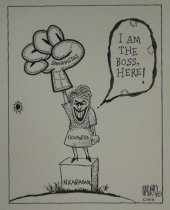 Image of I am the boss, here! - Sauceda, Norman Allan (Allan McDonald),1970-