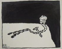 Image of [Closed Eyes] - Sauceda, Norman Allan (Allan McDonald),1970-