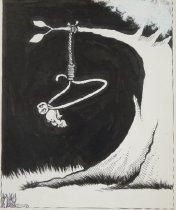 Image of [Infant Hanging] - Sauceda, Norman Allan (Allan McDonald),1970-