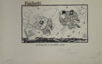 Image of A falling out in the burial detail  - Fischetti, John, 1916-1980