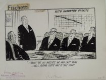 Image of - about the old pazzazz we had last year... well, rising costs has it this year - Fischetti, John, 1916-1980