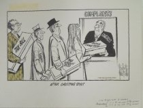 Image of After Christmas spirit  - Fischetti, John, 1916-1980