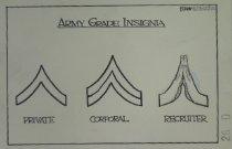 Image of Army Grade Insignia - Breen, Steve, 1970-