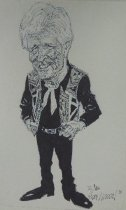 Image of [Caricature of Jim Willoughby] - Hazelton, Herb, 1930-2002