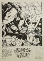 Image of Brooklyn Comics and Graphics Festival - Burns, Charles, 1955?-