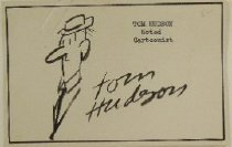 Image of [self-caricature] - Hudson, Tom, 1910-1996