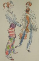 Image of [23 miscellaneous sketches] - Flessel, Creig, 1912-2008