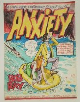 Image of Bob and Ray: A comic book guaranteed to keep you in ANXIETY - Flessel, Creig, 1912-2008