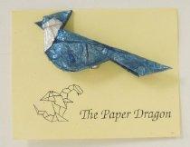 Image of [origami blue jay] - Kennedy, Mark W.